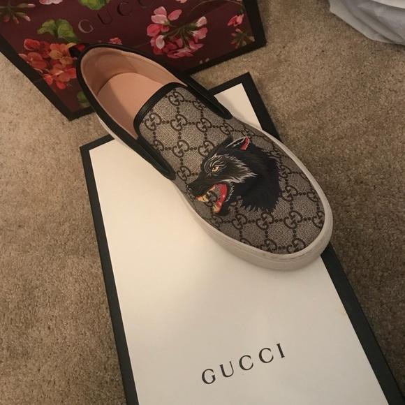 Male Gucci Slip On Sneakers | Poshmark
